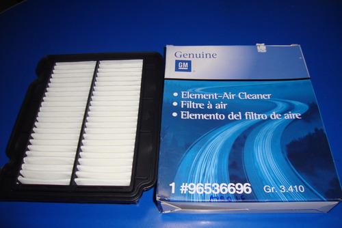 filtro de aire del motor chevrolet aveo 1.6 original gm