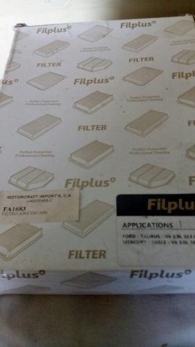 filtro de aire ford escape , taurus,