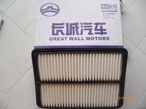 filtro de aire hover / sailor great wall
