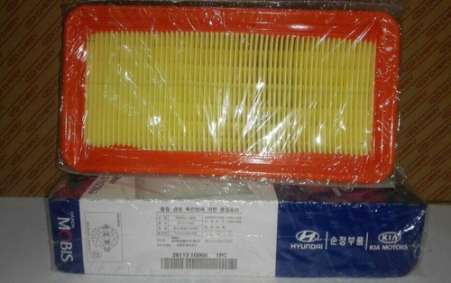 filtro de aire hyundai accent/rio 1.5