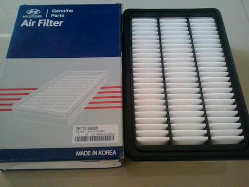 filtro de aire hyundai santa fe 2007 al 2009