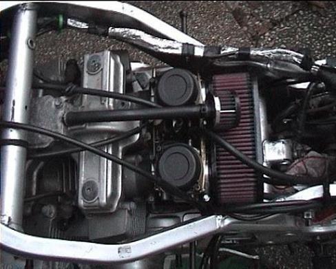 filtro de aire k&n k & n  kn para gs500 todos los modelos