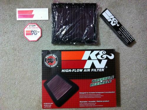 filtro de aire k&n kn para pulsar - todos los modelos