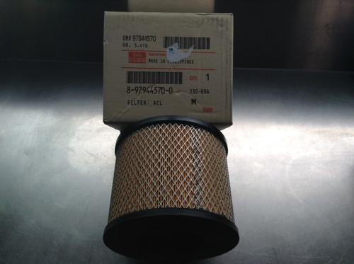 filtro de aire luv dmax 3.0 original isuzu