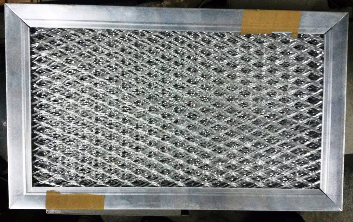 Filtro de aire malla expandida de aluminio 5 x 11 1 2 x 1 - Filtro de malla ...