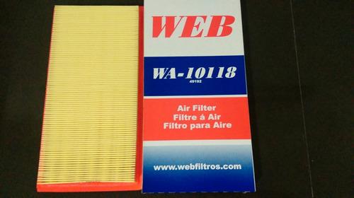 filtro de aire para caliber y jeep compas