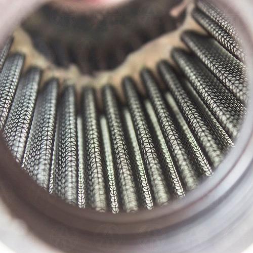 filtro de aire para vw sedan vocho de alto flujo plata f3