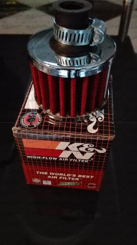 filtro de aire pequeño air intake k&n fotos reales kyn