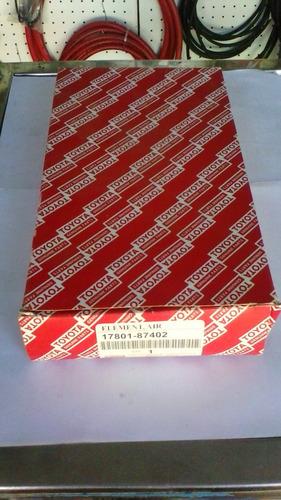 filtro de aire toyota terios 02/08 nro part 17801-87402 orig