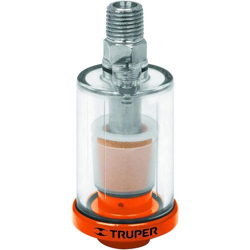 filtro de aire trampa de agua aceite truper compresor