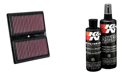 filtro de ar 33-3037 vw up tsi e polo 1.0 tsi + kit limpeza