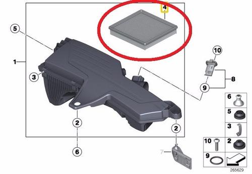 filtro de ar do motor bmw 540i v8 1997-2004 original