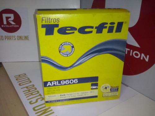 filtro de ar do motor  ford ranger tecfil arl9606 ford