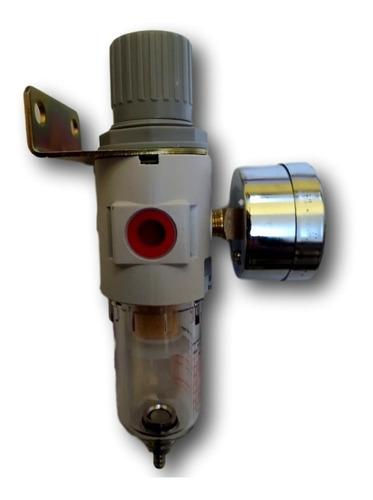 filtro de ar e regulador com manômetro filtro regulador 1/4