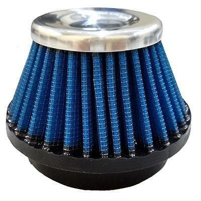 filtro de ar esportivo 33mm azul c100 biz/crypton gmx