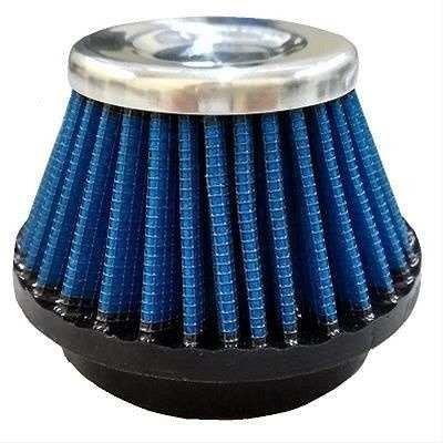 filtro de ar esportivo 38mm azul titan 125/ybr 125 gmx