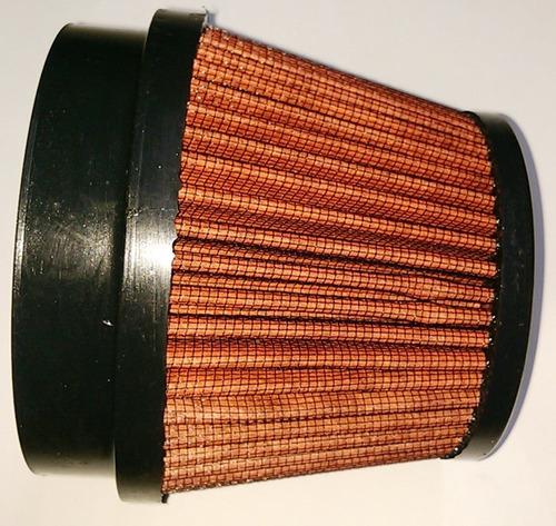 filtro de ar esportivo 4 pol 101,6 mm