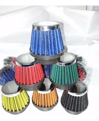 filtro de ar esportivo cg sport 150 50mm lavavel promoçao