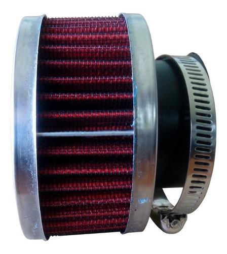 filtro de ar esportivo cg titan ybr 125 38mm