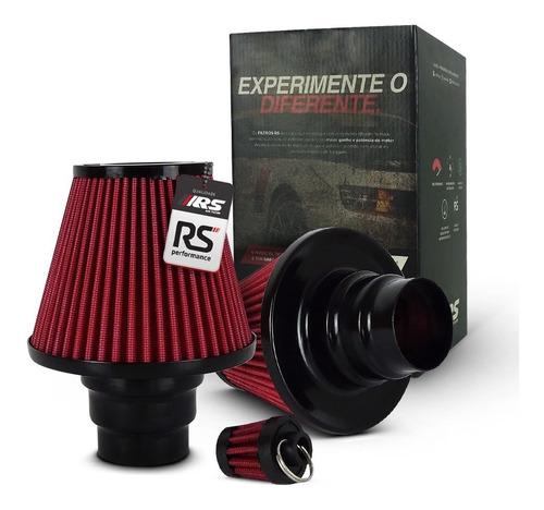 filtro de ar esportivo duplo fluxo multi678rsd vermelho
