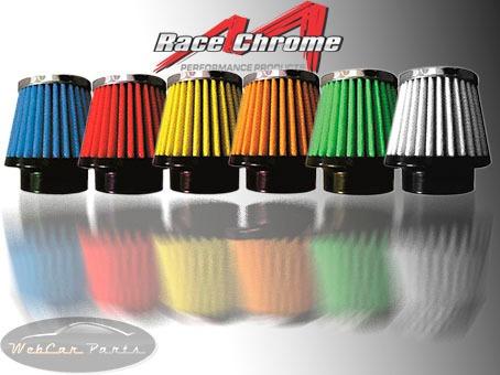 filtro de ar esportivo honda nx4 falcon carbura race chrome