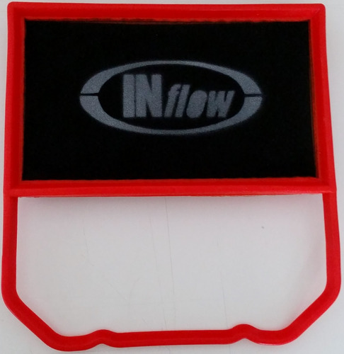 filtro de ar esportivo inflow fox 1.0 g6  hpf4275
