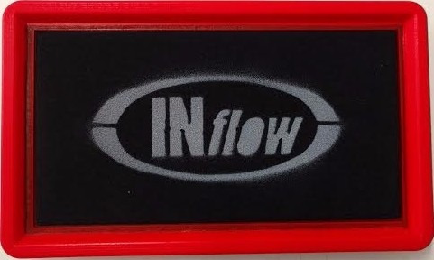 filtro de ar esportivo inflow honda civic si hpf7200