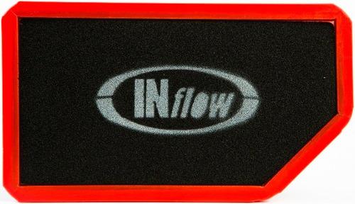 filtro de ar esportivo inflow kia soul 1.6 hpf8350