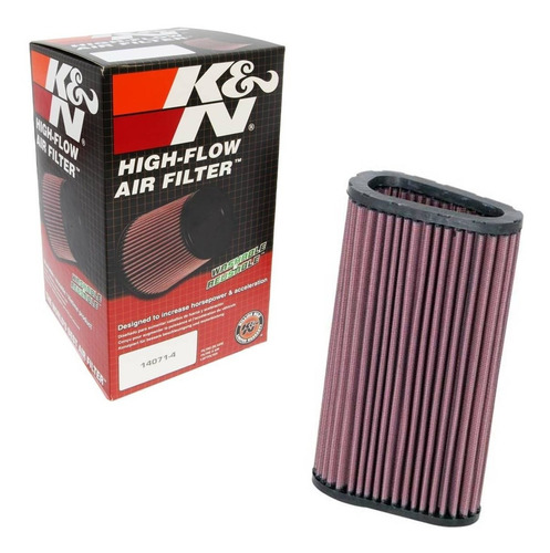 filtro de ar esportivo k&n  honda cbr 600 f hornet 12-13-14
