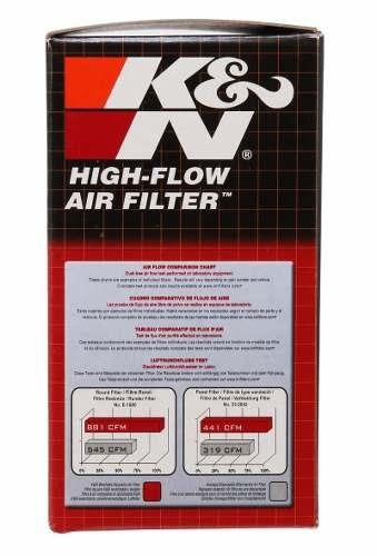 filtro de ar esportivo k&n kn ya-5008 yamaha tmax 530 t-max