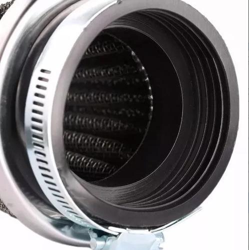 filtro de ar esportivo lavável rd135 titan 150 fazer 250