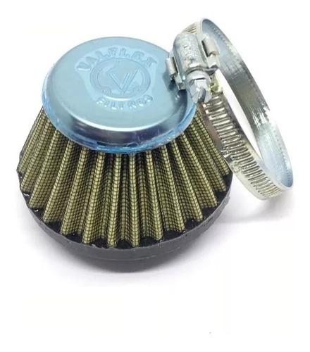 filtro de ar esportivo lavável tela metal cg 125 titan fan