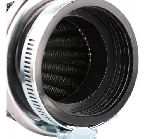 filtro de ar esportivo lavável twister 50mm
