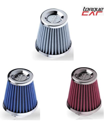filtro de ar esportivo p/ carros ford fiat gm vw 1.0 e 1.4