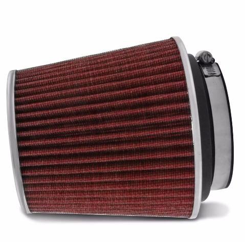 filtro de ar esportivo universal duplo fluxo k&n