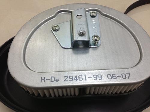 filtro de ar harley davidson softail/dyna 2008 até 2015