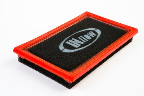 filtro de ar inflow esportivo nissan tiida 1.8 16v hpf9925