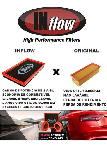 filtro de ar inflow honda hr v 1.8 16v 2016 a 2018 hpf6370