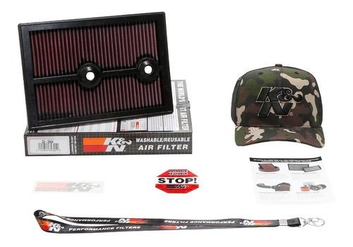 filtro de ar kn inbox golf jetta a3 q3 1.4 tsi turbo 33-3004