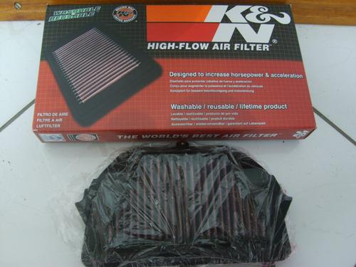 filtro de ar k&n yamaha r6 2008 2015