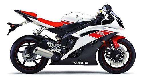 filtro de ar k&n yamaha r6 kn k n esportivo 2008-2014