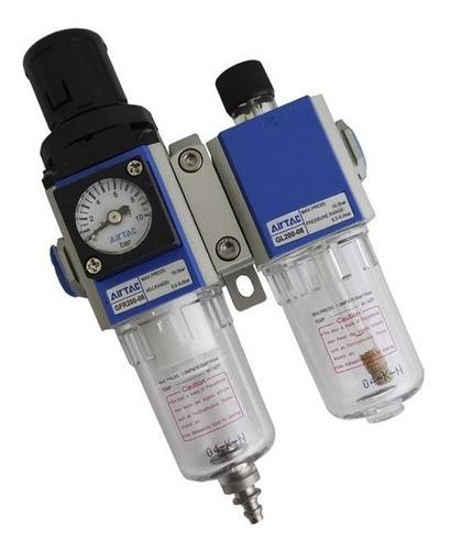filtro de ar lubrificador 1/4'' gfc200-08-f3 puma