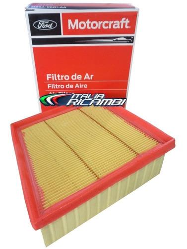 filtro de ar original ford motorcraft new fiesta 1.5 1.6