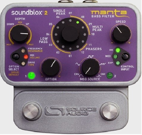 filtro de bajo, manta bass filter, source audio