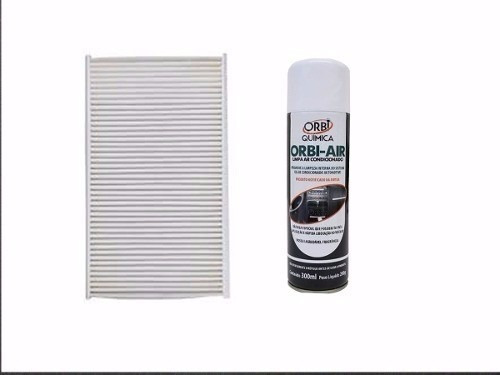 filtro de cabine + higienizador peugeot 307,308,408, c3 c4