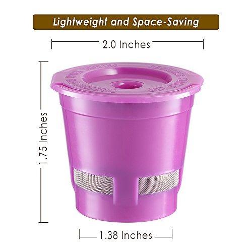filtro de cafe reutilizable de 4 paquetes de chulux para caf