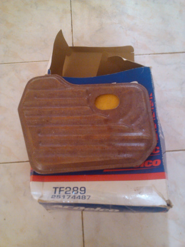 filtro de caja chevrolet tf289-25174487