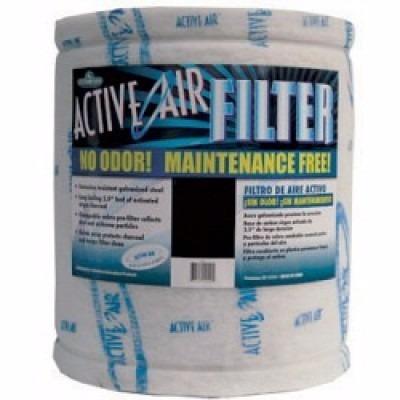 filtro de carbón active air de 20' x 16' sin brida