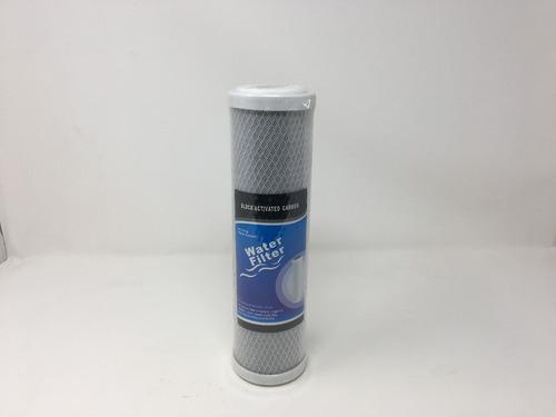 filtro de carbon activo en bloque 10 pulgadas 5 micras