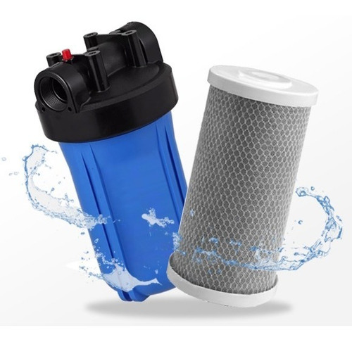 filtro de carvão ativado big blue 10 pol